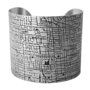 Toronto Map Bracelets - Designhype - City Inspired Accessories