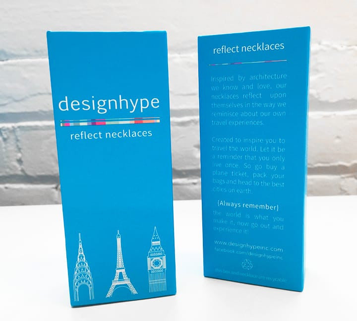 Eiffel Necklace - Designhype - City Inspired Accessories