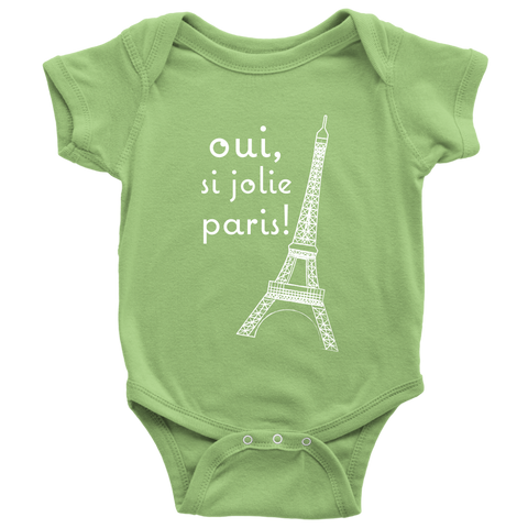 Paris is so Pretty - Eiffel Tower Onesie