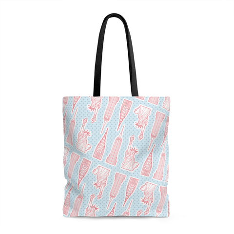 New York City Landmarks Tote Bag