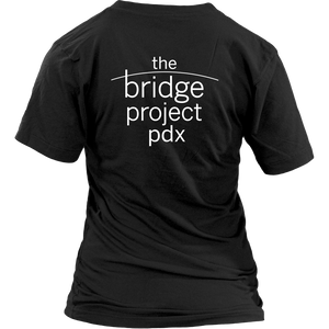 Bridge Project PDX - V-Neck Tee - Designhype - City Inspired Accessories