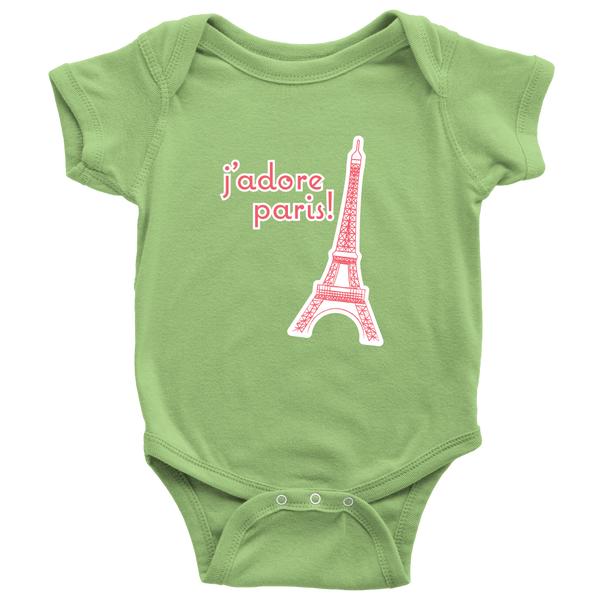 I adore Paris - Super Soft Eiffel Tower Onesie