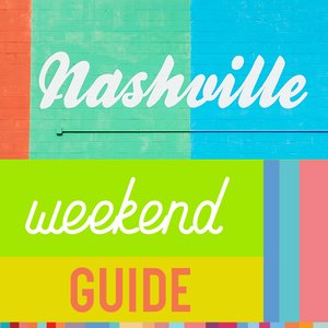 Nashville in a Weekend Travel Guide - Free Download - Designhype - City Inspired Accessories