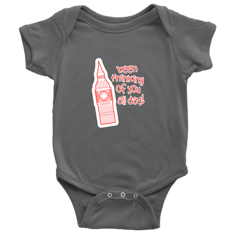 Been Thinking of You All Day - Big Ben Baby Onesie