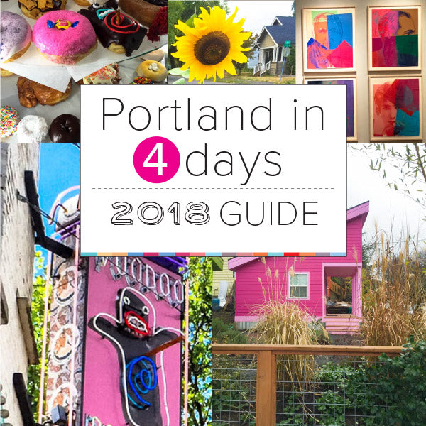 Portland in 4 Days Travel Guide - Free Download - Designhype - City Inspired Accessories