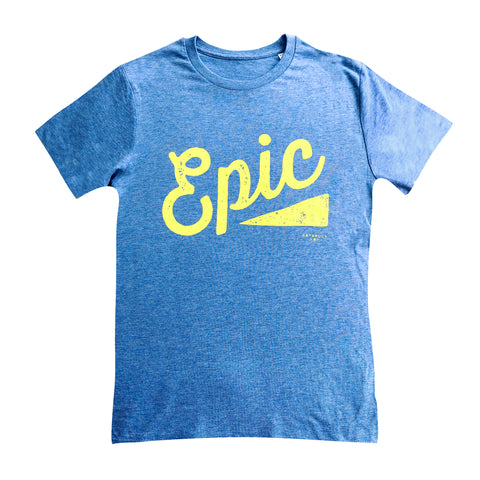 Heather Blue Epic Tee