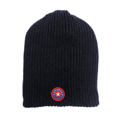 Catapult Slouchy Beanie Navy