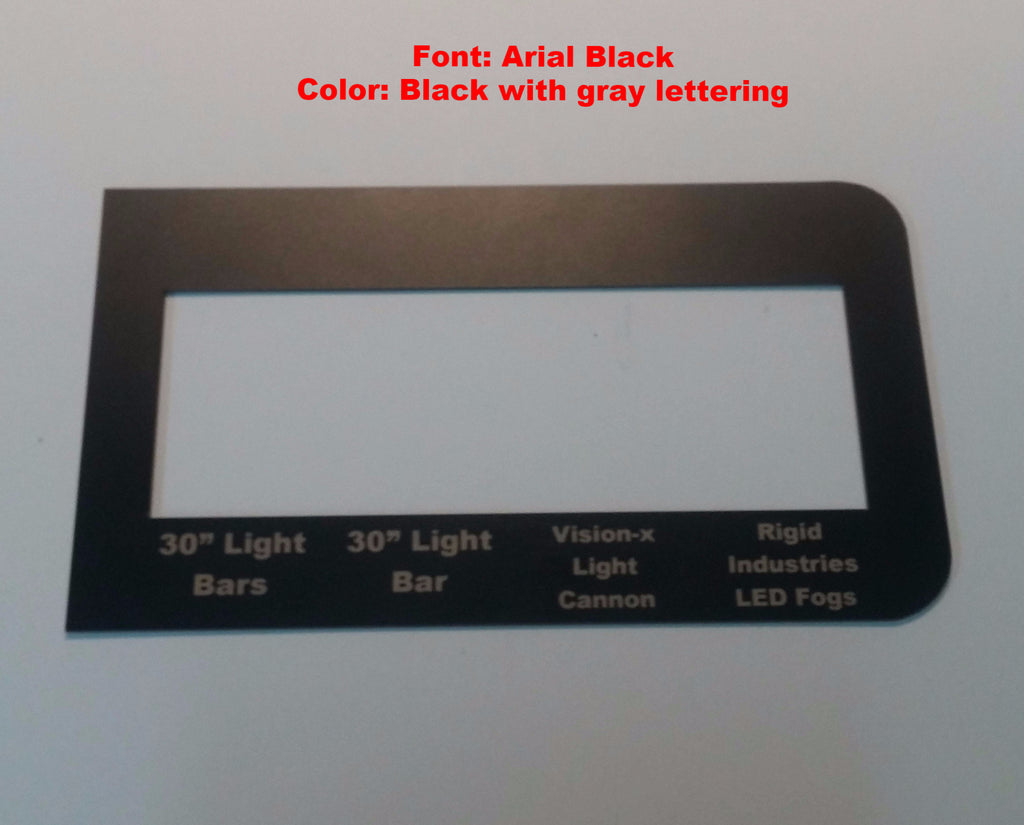 Ford F150 Raptor Aux Switches Install Led Products To 2017 Vision X Wiring Diagram 2014 Electricity
