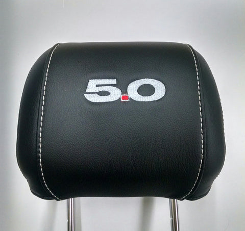 2010-2014 Ford Mustang Headrest Embroidery