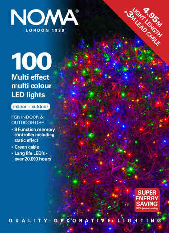 100 Multi Function LEDs - Multi Colour