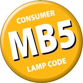 MB5 - 5v:0.7w Micro bulb Clear Push-in Lamp