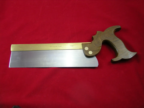 Dovetail Saw with folded brass back and Palo Santo Handle