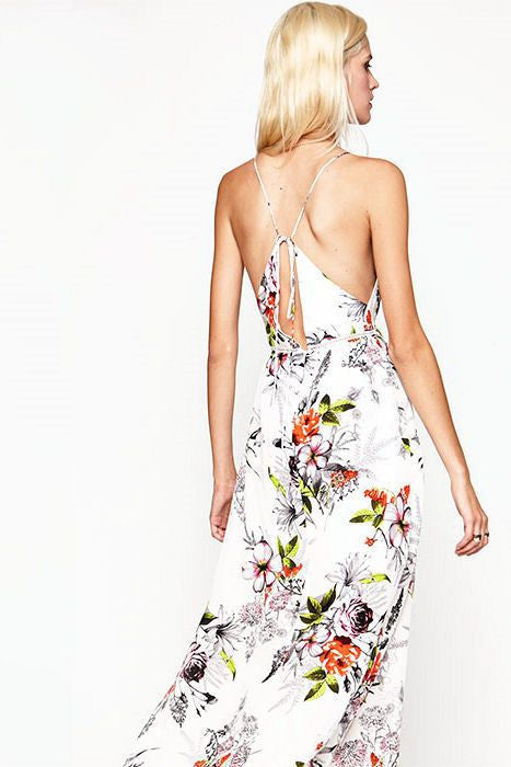 Chateau dress in bloom
