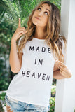 South Parade || Made In Heaven classic tee in white