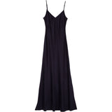 Slip dress in Mediterranean blue