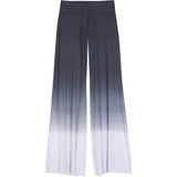 Wide pant in black ombre