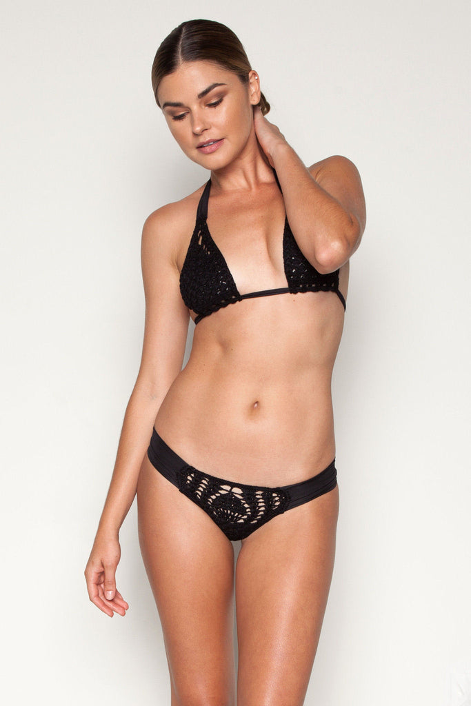 Saba crochet bottom in black