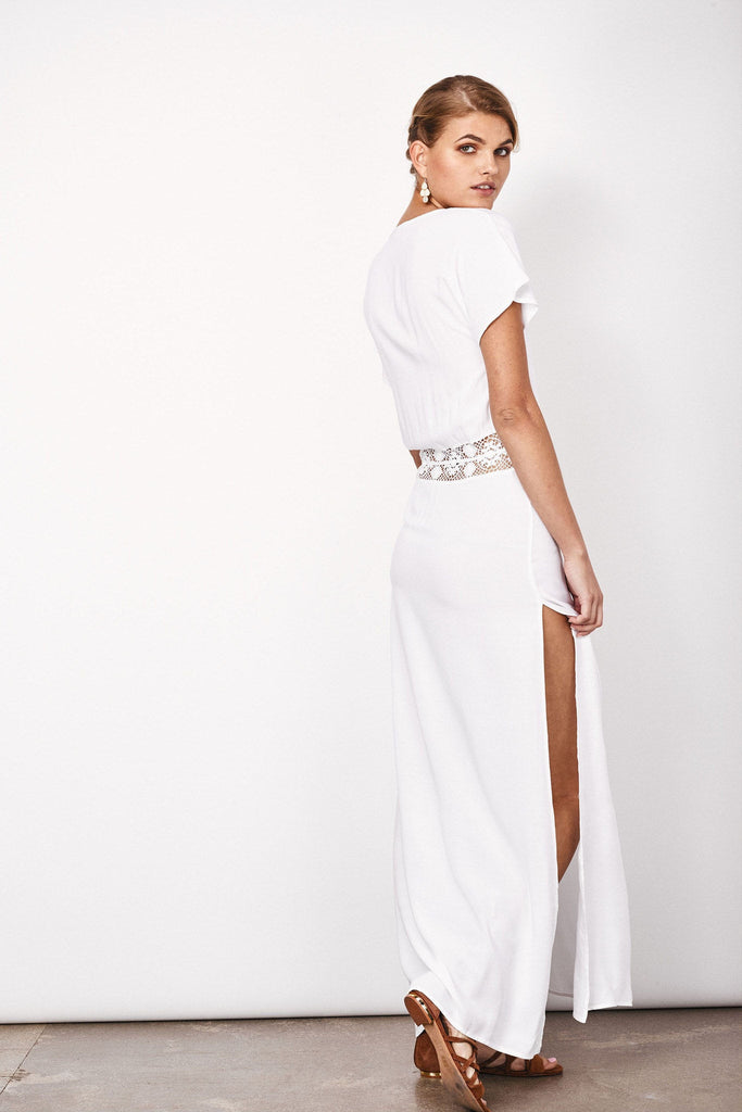 Taylor maxi in white
