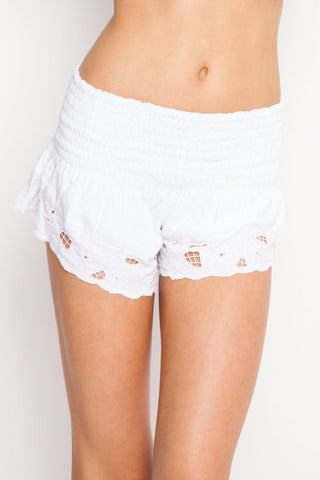 Poipu Short in White