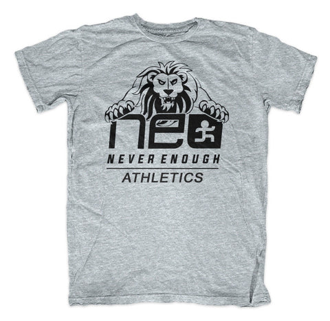 NEA Lion Shirt - Grey Heather