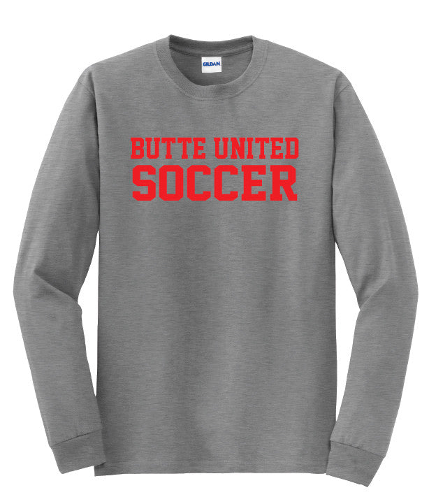 Butte United Bold Adult Long Sleeve Shirt
