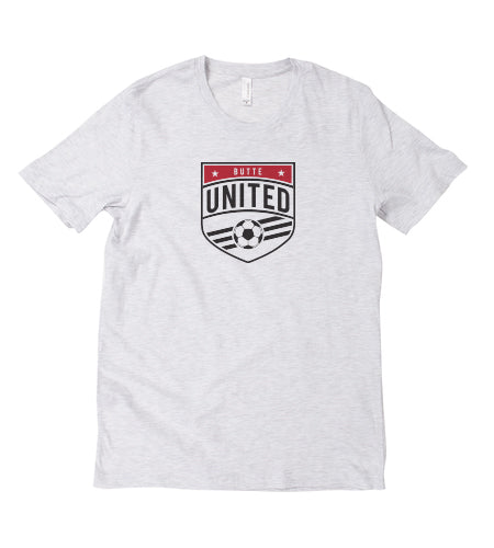 Butte United 2018 Crest - Ash Tee