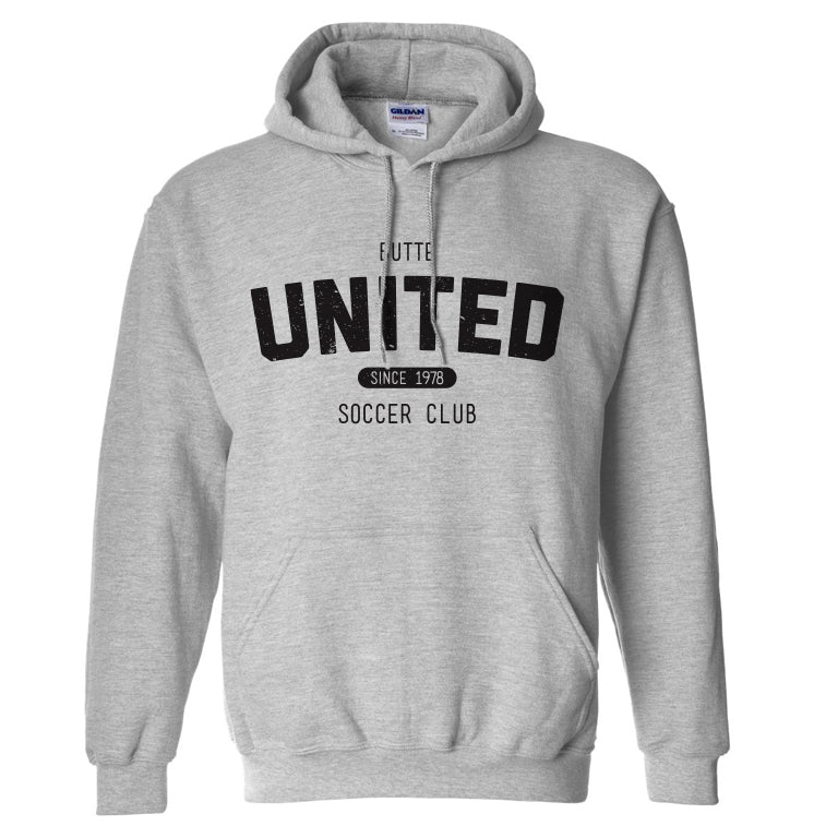 Butte United Since 1978 Sport Grey Hoodie
