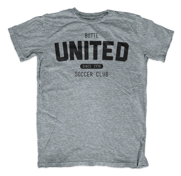 Butte United Since 1978 Athletic Grey Shirt