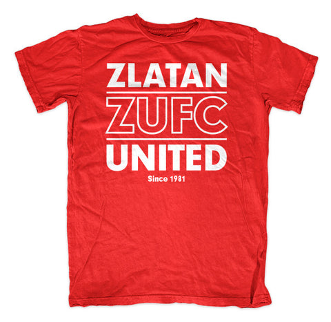 Zlatan United - Red Tee