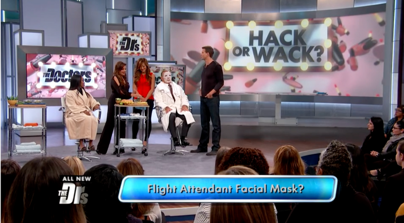 The Flight Attendant Beauty Secret As Seen On The Doctors TV Show