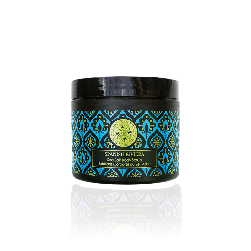 Spanish Riviera Sea Salt Body Scrub - Shop Passport To Beauty