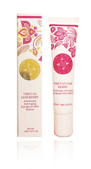 Destination Tibet - Tibetan Goji Berry Eye Serum - Shop Passport To Beauty