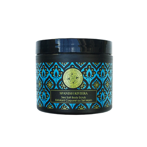 Destination Barcelona-Spanish Riviera Sea Salt Body Scrub - Shop Passport To Beauty