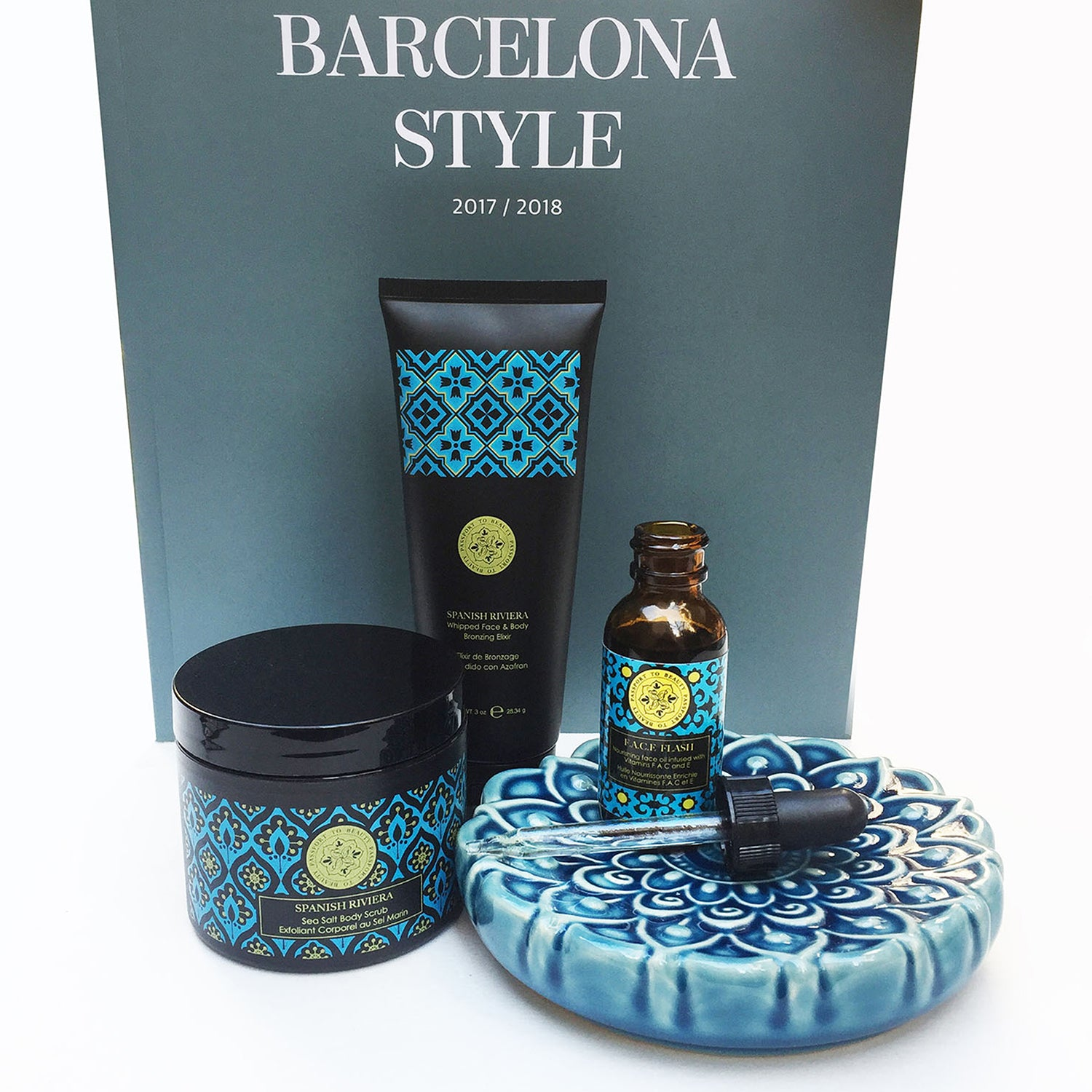 Destination Barcelona - Full Spanish Riviera Collection, Set of 3 - Shop Passport To Beauty