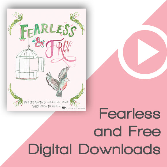 Fearless and Free Bible Study Digital Downloads