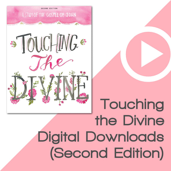 Touching the Divine Bible Study Digital Downloads