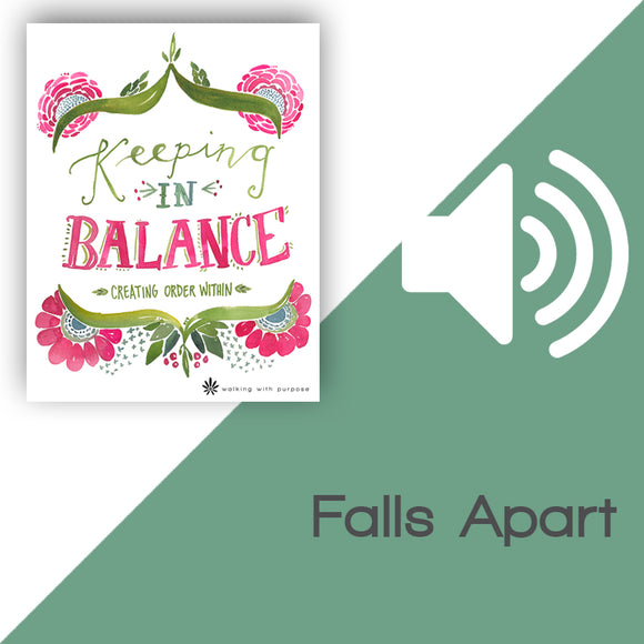 Keeping In Balance Audio Download Talk 5, Lesson 18