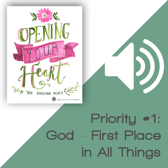 Opening Your Heart Audio Download Talk 2