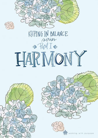 Harmony: Keeping In Balance Young Adult Series - Book 1