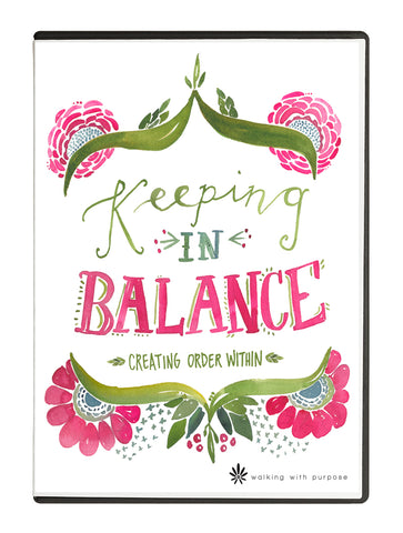 Keeping In Balance DVD