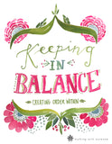 Keeping in Balance Bible Study