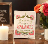 Keeping in Balance front cover