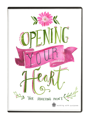 101 Opening Your Heart DVD