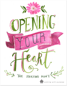 photo about My Heart Christ's Home Printable named 101 Opening Your Centre Bible Review