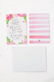 WWP Assorted Scripture Note Card Set of 20 with Envelopes
