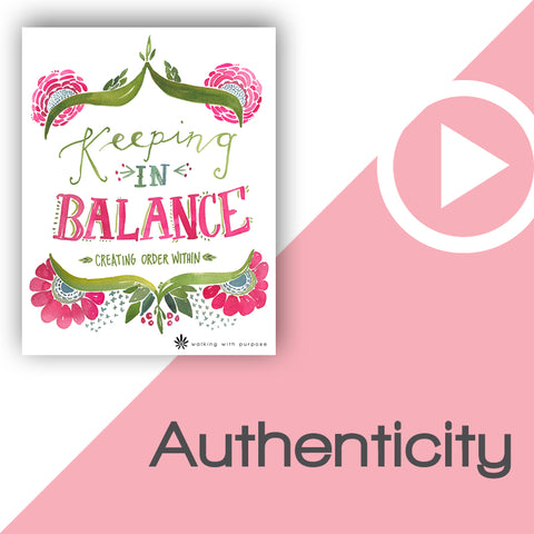 Keeping In Balance Digital Download Video 1