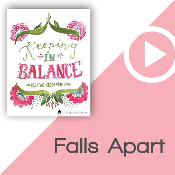 Keeping In Balance Video Download Talk 5, Lesson 18