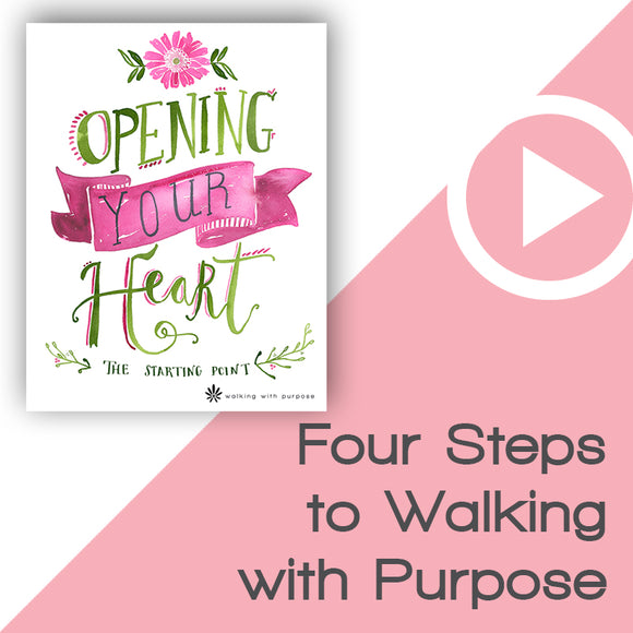 Opening Your Heart Digital Download Video 1