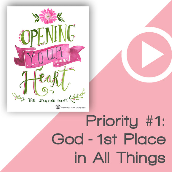 Opening Your Heart Digital Download Video 2