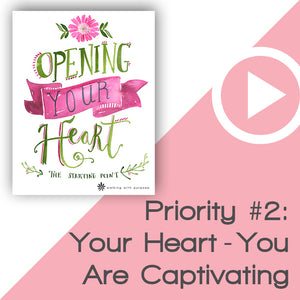 Opening Your Heart Digital Download Video 3